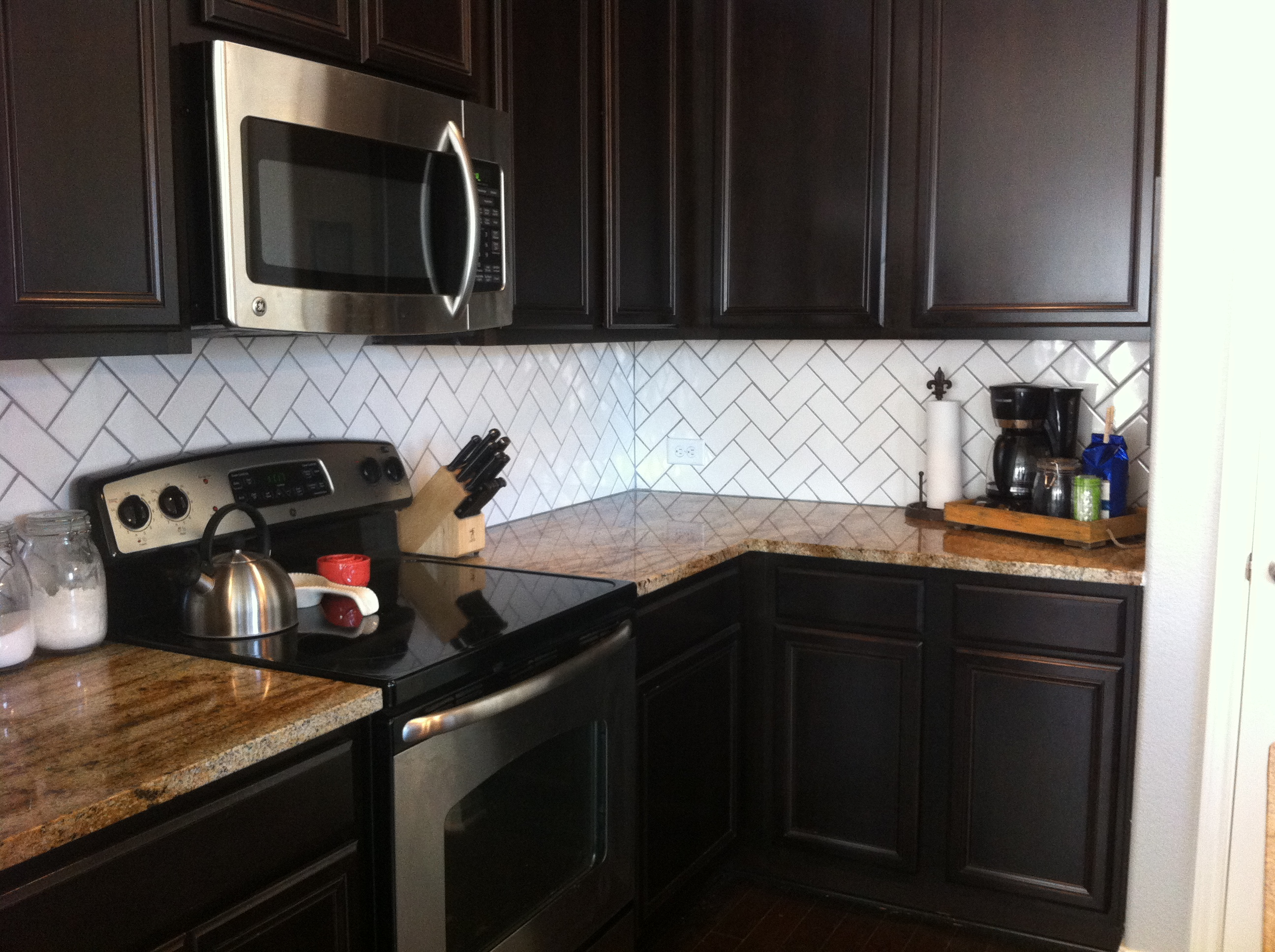 Backsplash Drab To Fab House To Home