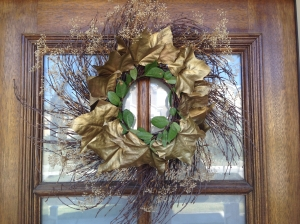 front wreath