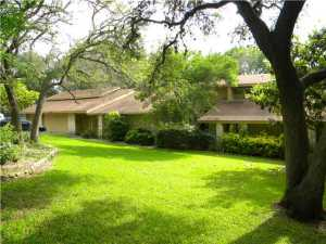 Exterior Front : 1.37 Acres.  Sprinkler System, 4 car garage (3